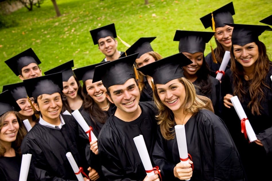 happy CLEP graduates