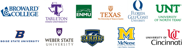 More CLEP Colleges